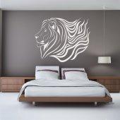 Autocolante decorativo leão