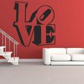 Autocolante decorativo love