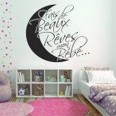 Autocolante decorativo sonhar
