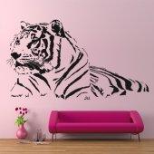 Autocolante decorativo Tigre