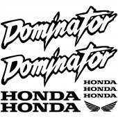 Autocolante Honda dominator