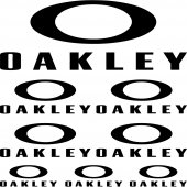 Autocolante oakley