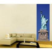 Banner Liberty Statue Wall Sticker
