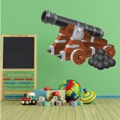 Cannon Wall Stickers