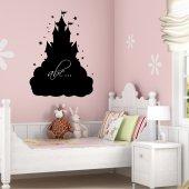 Castle Chalkboard / Blackboard Wall Stickers