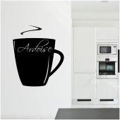 Coffee Cup - Chalkboard / Blackboard Wall Stickers