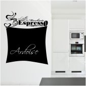 Coffee Cup - Chalkboard / Blackboard Wall Stickers