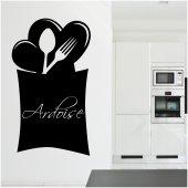 Cutlery - Chalkboard / Blackboard Wall Stickers