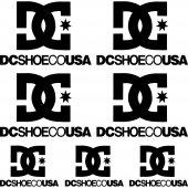 Dcshoeco USA Aufkleber-Set