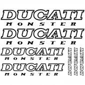 Ducati Monster Aufkleber-Set