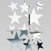 Espejos decorativo Acrílico Pléxiglas  Kit 11 estrellas