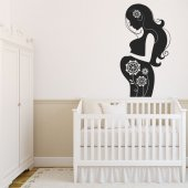 Expectant Mother Wall Stickers