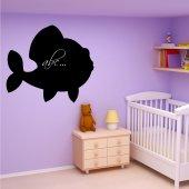 Fish - Chalkboard / Blackboard Wall Stickers