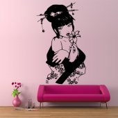 Geisha Wall Stickers