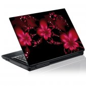 Graphic flower Laptop Skins