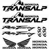 Honda Transalp 650 Aufkleber-Set