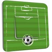 Interrupteur Décoré Simple Football