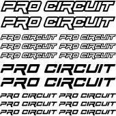 Kit Pegatinas pro circuit