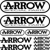 Kit stickers arrow