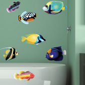 Kit Vinilo decorativo infantil pescado