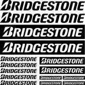 Komplet naklejek - Bridgestone