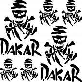 Komplet naklejek - Dakar