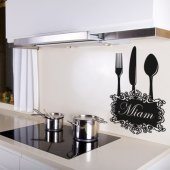 Miam Wall Stickers