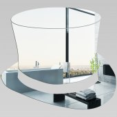 Miroir Acrylique Plexiglass Chapeau
