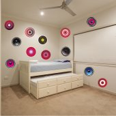 Music Set Wall Stickers