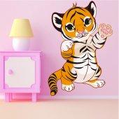 Naklejka ścienna Dla Dzieci - Tygrys