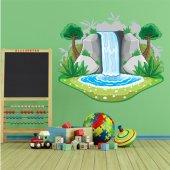 Naklejka ścienna Dla Dzieci - Wodospad