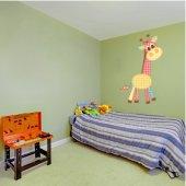 Naklejka ścienna Dla Dzieci - Żyrafa