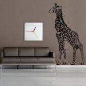Naklejka ścienna - Żyrafa