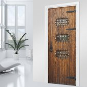 Naklejka na Drzwi - Drewniane
