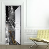 Naklejka na Drzwi - New York