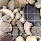 Naklejka na Płytki Ceramiczne - Kamyki