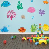 Ocean Set Wall Stickers