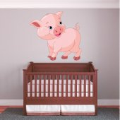 Pig Wall Stickers