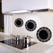 Plate Wall Stickers