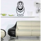 Russian doll Wall Stickers