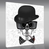 Skull - Forex Print