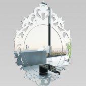 Specchio acrilico plexiglass - barocco
