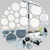 Specchio acrilico plexiglass - sfondo pois colorati