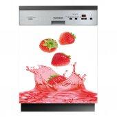 Spülmaschine Aufkleber Erdbeeren