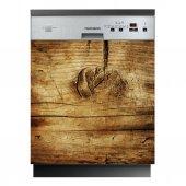 Spülmaschine Aufkleber Holznachbildung