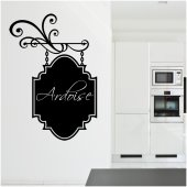Sticker Ardezie Deco