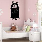 Sticker Ardezie Pisica
