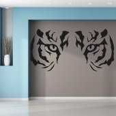 Sticker Privire Tigru