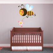 Autocollant Stickers enfant abeille