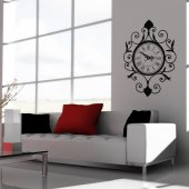 Stickers Horloge